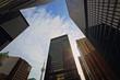 Toronto skyline in financial district