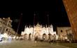 VENICE Italy Saint Mark s Basilica and the Campanile by night