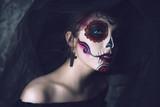 portrait of a sugar skull - 174343227