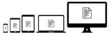 Geräte - Dokument mit Text - 174351206