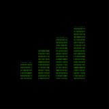 Hacker - 101011010 Icon - Balkendiagramm - 174355261