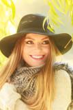 Portrait of beauty woman outdoors - 174358280