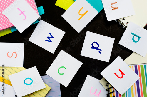Czech; Learning Language with Handwritten Alphabet Character Cards