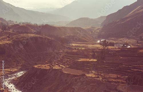 Fotobehang Galyna A. Colca canyon