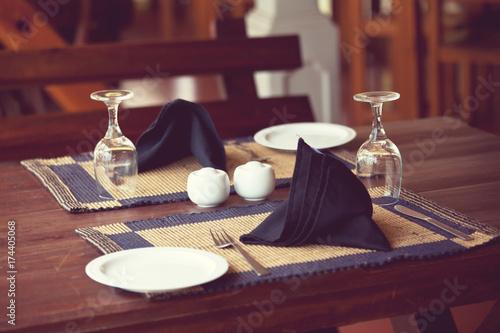 Fotobehang Galyna A. Restaurant decor