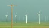 Wind Farm and Power Pole 02 - 174416406