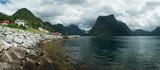 Urke village and Hjorundfjorden fjord - 174429028