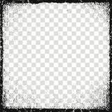 Vector illustration. Frame for image. Grunge, dirt effect - 174461822