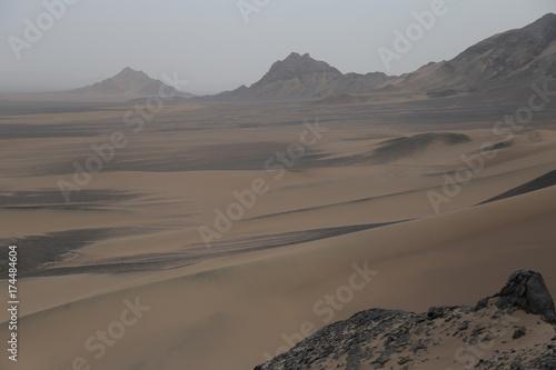 Spoed canvasdoek 2cm dik Cappuccino Iran Dashte Lut Desert