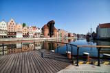 Fototapety City of Gdansk Old Town Skyline