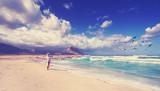 unendliche Weite am Strand in Sizilien - 174494829
