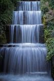 Beautiful Lush Waterfall, Wasserfall