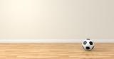 Balón suelo madera