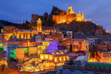 Tbilisi. Old city. - 174553615