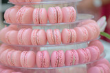 French macaroons.Candy bar.Wedding feast. Wedding sweets - 174566663