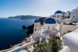 Blue domed churches of Oia - 174573690
