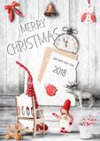Christmas Greeting Card - 174587225