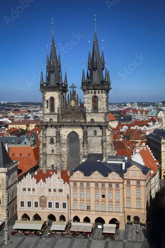 Church of our Lady Tyn in Prague, Czech Republic
