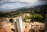 View from tallest tower in San Gimignano - 174608833