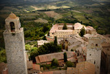 View from tallest tower in San Gimignano - 174609227