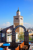 View of famous Mosque in Tunis, Tunisia - 174609646