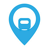 location pin icon over white background vector illustration - 174612851