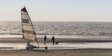 Chars-à-voile sur la plage de Quend-Plage - 174674661