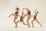 The group of modern ballet dancers - 174691004