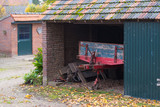 old farmers barn - 174692646