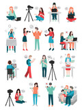 Blogger Human Characters Collection - 174694647