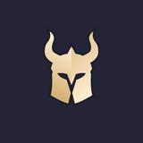 helmet vector logo design - 174695467