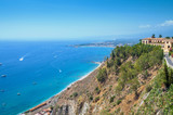 The coast of Taormina. - 174697817