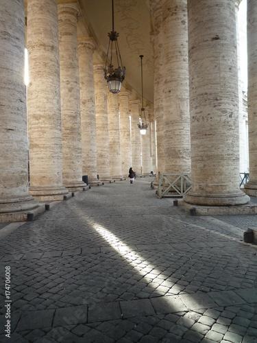 In de dag Rome ヴァチカン、回廊