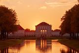 Schloss Nymphenburg Muenchen at Fall - 174708224