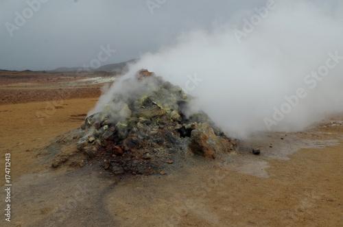 Keuken foto achterwand Donkergrijs Исландия