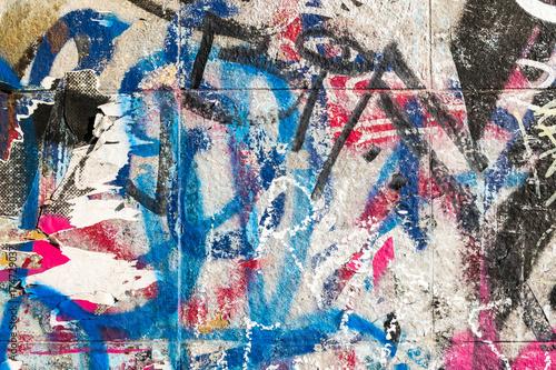 Foto op Canvas Graffiti Hintergrund2909a