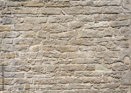Tuinposter Stenen stone wall background