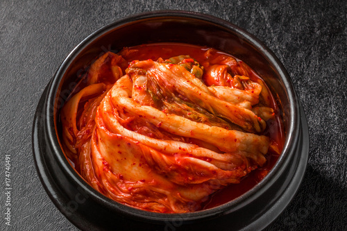 Keuken foto achterwand Seoel つぼ入り高級キムチ Luxury Kimchi Korean pickles