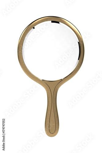 Fotobehang Retro Hand Mirror
