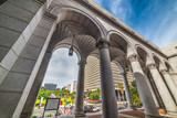 Arcades in Los Angeles city hall - 174755446