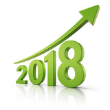 2018 Growth forecast concept - 174762067