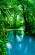 Quadro Blue Celeste River in Costa Rica