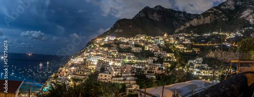 Fototapeta Positano Italy Cliff Side Village