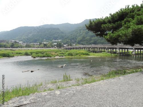 Foto op Plexiglas Kyoto 渡月橋