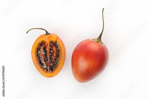 Foto Murales Tamarillo (Solanum betaceum, syn. Cyphomandra betacea)