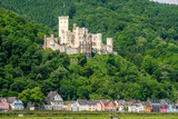 Stolzenfels Castle at Rhine Valley near Koblenz, Germany. - 174803087