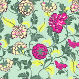traditionally floral pattern - 174814254