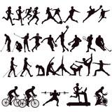 Sport Kollektion isoliert