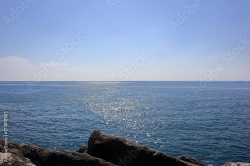 穏やかな太平洋を眺める Poster