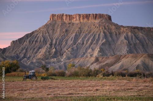 Aluminium Cappuccino Desert Farming. Utah
